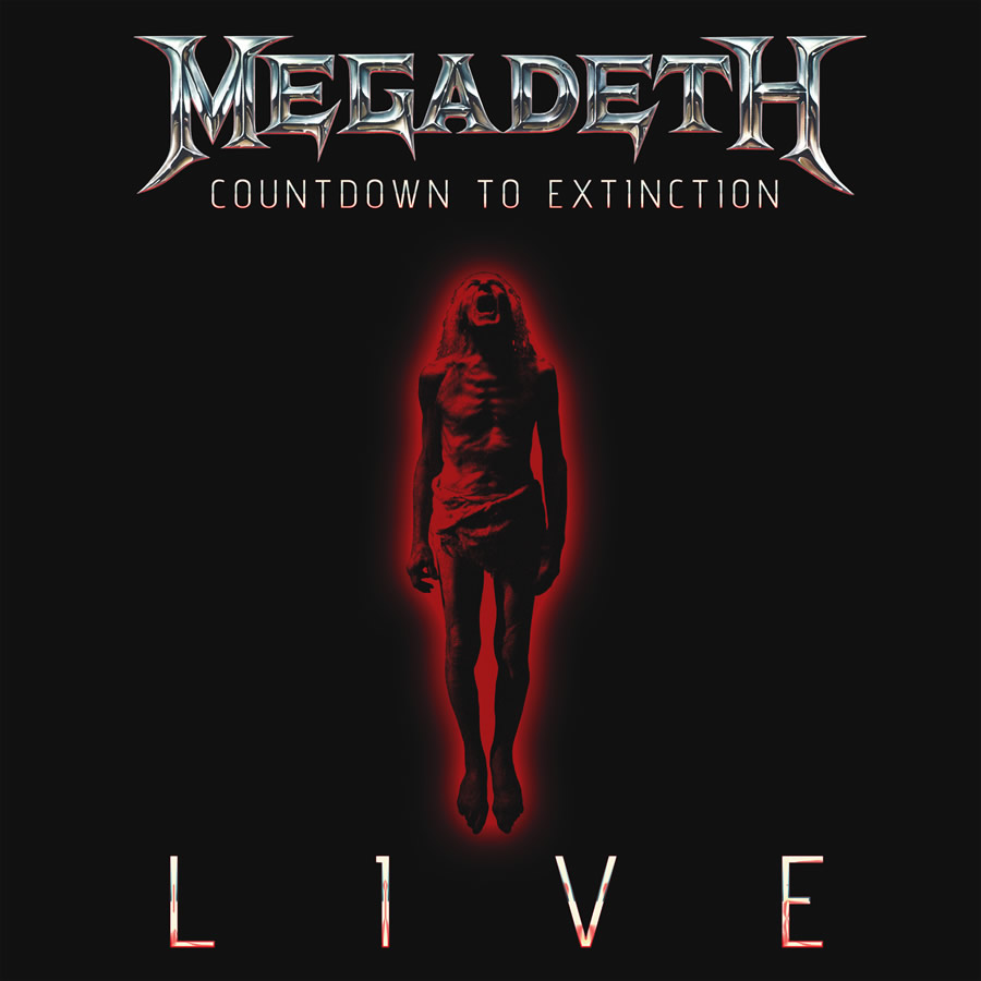 MEGADETH Countdown To Extinction - Live