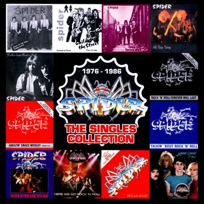 SPIDER The Singles Collection 1976 - 1986
