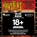 THE MONSTERS M / VARIOUS ARTISTS (SAMPLER) Monsters