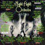 THE NIGHT FLIGHT ORCHESTRA Dynamo Werk 21, Zürich 18. Dezember 2017