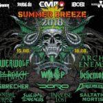 VORSCHAU Summer Breeze Festival in Dinkelsbühl – Mittwoch, 15. August, bis Samstag, 18. August 2018