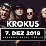 KROKUS ADIOS AMIGOS 2019 - Join us for the final party, we'll not be back
