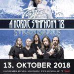 BEENDET - A Nordic Symphony '18 - Tarja Turunen & Stratovarius Doppel Headline Tour – 2 mal 2 Tickets für die Show am Samstag, 13. Oktober 2018 in Solothurn im Kofmehl zu gewinnen!