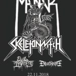 VERLOSUNG BEENDET: 1 X 2 Tickets für MANTAR/SKELETONWITCH/EVIL INVADERS/DEATHRITE am 22. November im Werk 21 (Zürich)