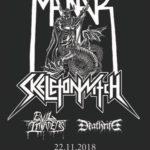 VERLOSUNG BEENDET: 1 X 2 Tickets für MANTAR/SKELETONWITCH/EVIL INVADERS/DEATHRITE am 22. November im Werk 21 (Zürich)