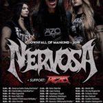 TRACKS präsentiert: NERVOSA auf Tour – mit zwei Dates in der Schweiz in Mai 2019