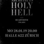 Verlosung – 1 mal 2 Tickets für ARCHITECTS am 28. Januar 2019 in Zürich (Halle 622) zu gewinnen!
