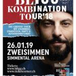 VERLOSUNG  BEENDET – 1 X 2 Tickets für BLIGG am 26. Januar 2019 der Simmental Arena in Zweisimmen zu gewinnen!