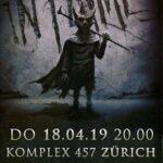 VERLOSUNG BEENDET: 2 mal 2 Tickets für IN FLAMES am 18. April 2019 im Komplex 457 in Zürich zu gewinnen!