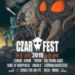 CZAR FEST am 19. und 20. April in der Kaserne mit Basel (CONAN, The Young Gods) - Warm-up am 12. April im Sommercasino Basel mit Dälek