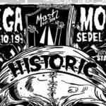 19. Oktober 2019: MEGAMOSH mit den besten Thrash Metal Bands Italiens: BULLDOZER, NECRODEATH und DISTRUZIONE im Sedel in Luzern