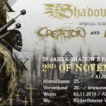 SHADOW'S FAR am Samstag, 2. November 2019 in Altdorf (Vogelsang)