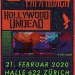 TRACKS präsentiert: PAPA ROACH und HOLLYWOOD UNDEAD am 21. Februar 2020 in der Halle 622 (Zürich)