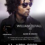 TRACKS präsentiert: William DuVall am 11. April im Komplex Klub (Zürich)