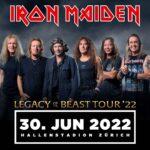 TRACKS präsentiert: IRON MAIDEN am 30. Juni 2022 im Hallenstadion (Zürich)