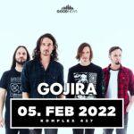 TRACKS präsentiert: GOJIRA am 5. Februar 2022 im Komplex 457 in Zürich