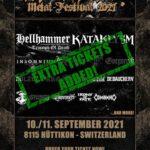 Für das MEH SUFF! Festival am 10. und 11. September 2021 in Hüttikon (ZH) sind wieder wenige Tickets erhältlich